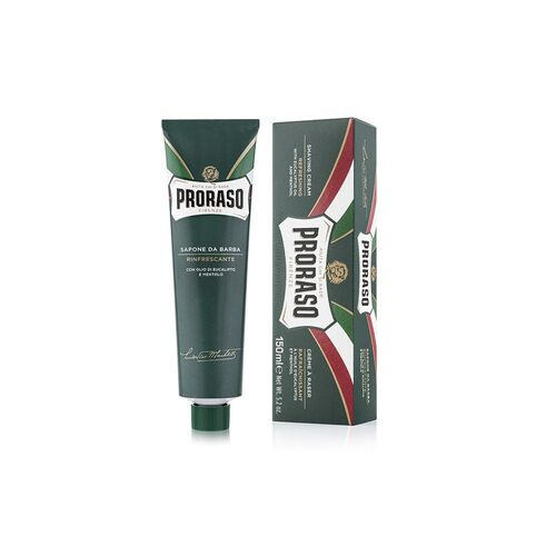 Shave cream tube - Refresh with eucalyptus and menthol